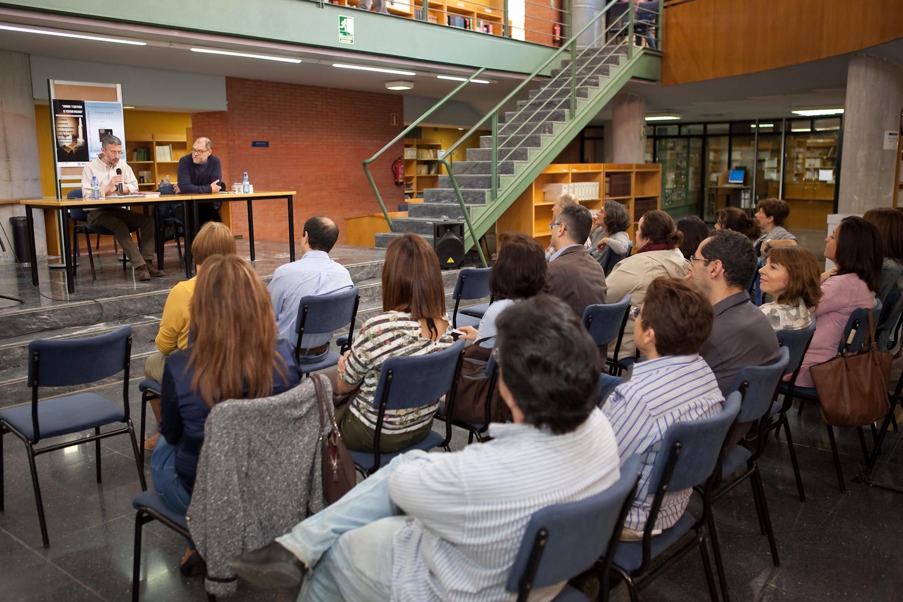 Presentación de la novela 'El protegido', de Pablo Aranda. Biblioteca...