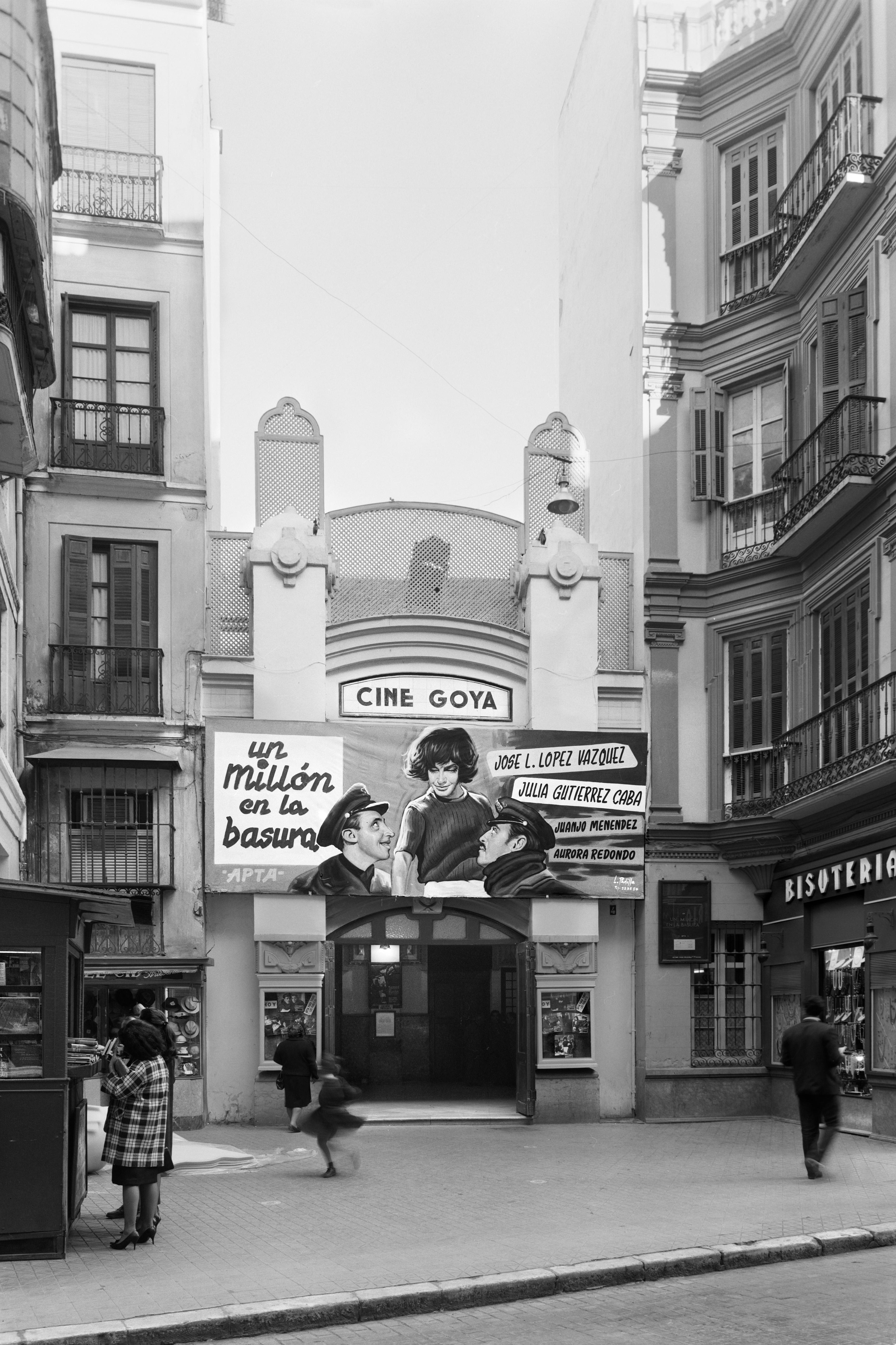 M laga cine goya calle calderer a abril de 1967 uma for Barrio ciudad jardin bogota