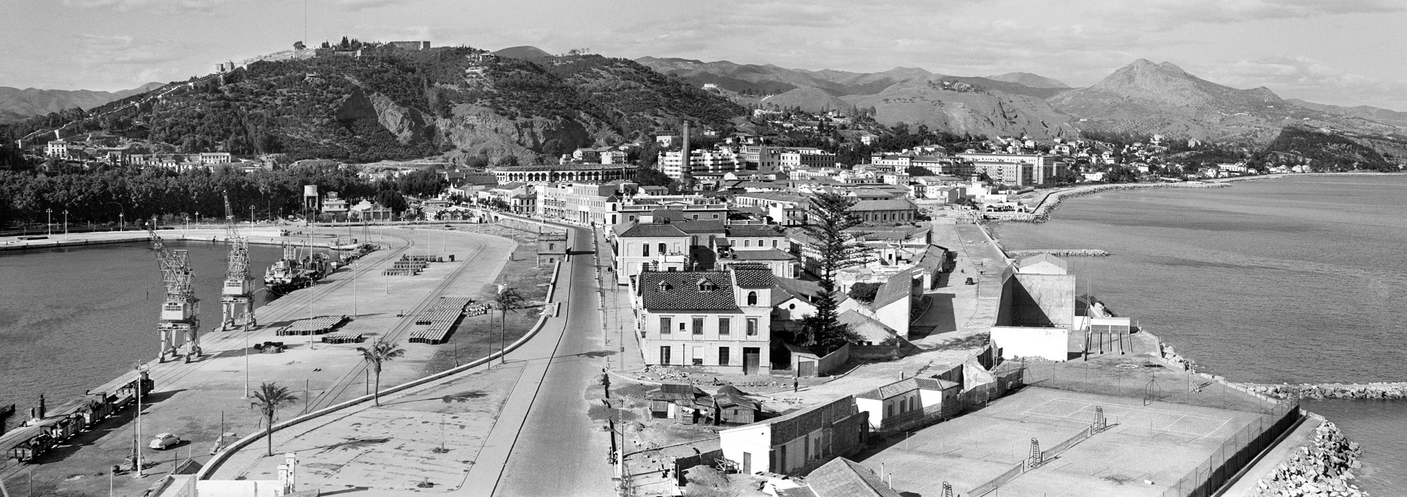 El Puerto, la Malagueta y la Ciudad